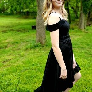 B. Darlin black High Low dress